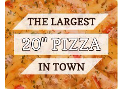 THE LARGEST Pizzas
